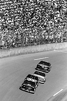 Dale Earnhardt leads a pack of cars, Daytona 500, NASCAR Winston Cup race, Daytona International Speedway, Daytona Beach, FL, February 1994(Photo by Brian Cleary/bcpix.com)