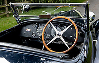 BNPS.co.uk (01202 558833)<br /> Pic: Bonhams/BNPS<br /> <br /> Cockpit. <br /> <br /> A classic car bought by a British motoring enthusiast for £750 before it was nearly written off by a drunk driver has sold for £3.8m.<br />  <br /> The 1932 Bugatti Type 55 roadster belonged to the late Geoffrey St John for over 50 years until his death last February.<br /> <br /> In 1994 he was badly injured when the motor was ploughed into by a drunk driver in France.<br /> <br /> Luckily the car - then valued at about £1m - could be salvaged and repaired.