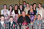 Pupils of Ballyduff Central NS after they were confirmed at St. John's Church, Causeway, on Thursday afternoon. Pictured with Bishop Bill Murphy are principal Pat Walsh, Lauren Fitzmaurice, Shauna Kissanne, Sophie Houlihan, Racheal and Nicole O'Connor, Amy Robinson, Michaela O'Rourke, Cathal Kearney, John Dowling, Seanie Hanson and Kieran O Grady.   Copyright Kerry's Eye 2008