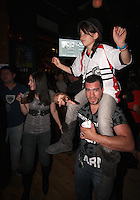 Fans enjoy post game charity affair during festivities surrounding the final appearance of Jaime Moreno in a D.C. United uniform, at RFK Stadium, in Washington D.C. on October 23, 2010. Toronto won 3-2.