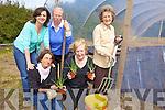 GETTING STUCK IN: Working at the new community garden in Abbeyfeale on Friday evening last were, front l-r: Helga Henn, Anne O'Meara. Back l-r: Dearbhla Condlon (West Limerick Resources), Marian Harnett, Bridie O'Shea.