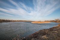 Platte River near Kearney Nebraska.