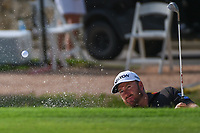 Graeme McDowell (NIR) hits from the trap on 5 during round 2 of the 2019 Charles Schwab Challenge, Colonial Country Club, Ft. Worth, Texas,  USA. 5/24/2019.<br /> Picture: Golffile   Ken Murray<br /> <br /> All photo usage must carry mandatory copyright credit (© Golffile   Ken Murray)
