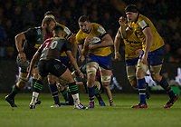 Bath Rugby's Elliott Stooke in action during todays match<br /> <br /> Photographer Bob Bradford/CameraSport<br /> <br /> European Rugby Heineken Champions Cup Pool 3 - Harlequins v Bath Rugby - Saturday 23rd November 2019 - Twickenham Stoop - London<br /> <br /> World Copyright © 2019 CameraSport. All rights reserved. 43 Linden Ave. Countesthorpe. Leicester. England. LE8 5PG - Tel: +44 (0) 116 277 4147 - admin@camerasport.com - www.camerasport.com