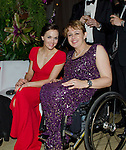 LAUREUS WORLD SPORTS AWARDS 2013, RIO DE JANEIRO, BRAZIL..AFTER PARTY AT THE COPACABANA PALACE HOTEL..VICTORIA PENDLETON AND DAME TANNI GREY-THOMPSON.11-3-2013 PIC BY IAN MCILGORM