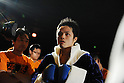 Hiroyuki Hisataka (JPN), DECEMBER 23, 2010 - Boxing : Hiroyuki Hisataka of Japan enters the ring before the WBA super flyweight title bout at Osaka Prefectural Gymnasium in Osaka, Osaka, Japan. (Photo by Mikio Nakai/AFLO)