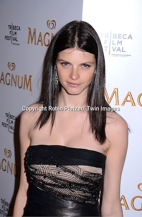 Jeisa Chiminazzo attending The premiere of the Magnum Ice Cream Film Series during the Tribeca Film Festival on April 21, 2011 at The IAC Building in New York City.