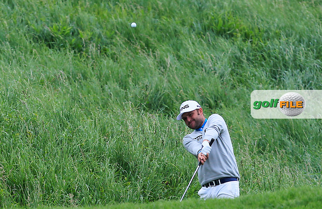 Andy Sullivan (ENG) on the 9th fairway during Round 4 of the 100th Open de France, played at Le Golf National, Guyancourt, Paris, France. 03/07/2016. <br /> Picture: Thos Caffrey   Golffile<br /> <br /> All photos usage must carry mandatory copyright credit   (&copy; Golffile   Thos Caffrey)