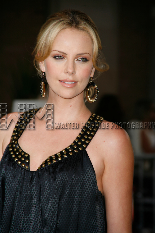 """Charlize Theron at the premier of """"Battle in Seattle"""" at the Toronto Film Festival 2007 held at the Ryerson Theatre, Toronto, Canada.  September 8, 2007. © Walter McBride /"""