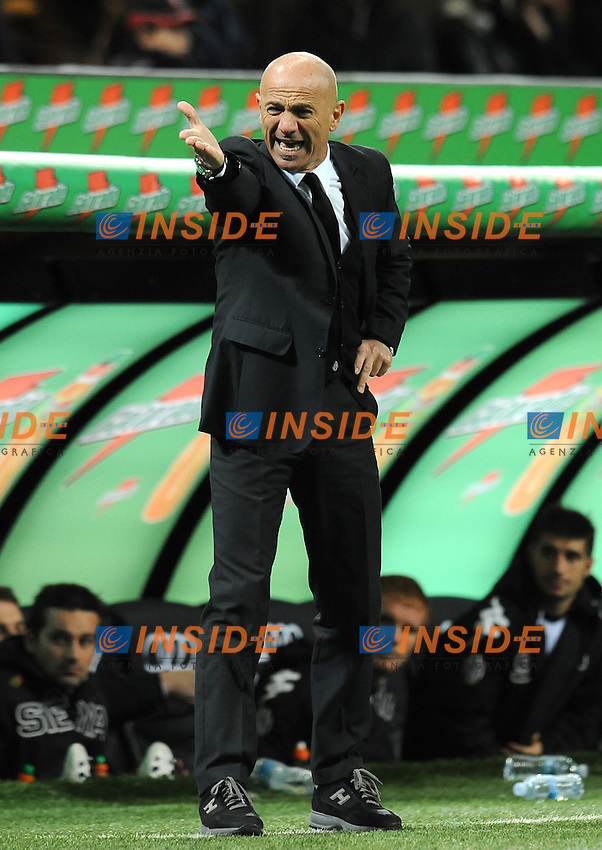 "Giuseppe SANNINO (Siena).Milano 17/12/2011 Stadio ""Giuseppe Meazza"".Serie A 2011/2012.Football Calcio Milan Vs Siene.Foto Insidefoto Alessandro Sabattini."