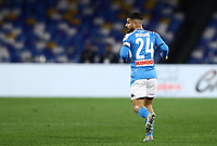 6th January 2020; Stadio San Paolo, Naples, Campania, Italy; Serie A Football, Napoli versus Inter Milan; Lorenzo Insigne of Napoli - Editorial Use