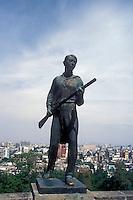 Nino Hero or Child Hero statue at Chapultepec Castle, Mexico City