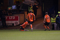 8th November 2019; Dens Park, Dundee, Scotland; Scottish Championship Football, Dundee Football Club versus Dundee United; Nicky Clark of Dundee United celebrates after scoring for 1-0 in the 55th minute - Editorial Use