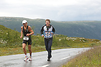 Race number 28 - Gisle Johnsen  - Norseman 2012 - Photo by Justin Mckie Justinmckie@hotmail.com