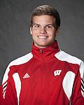 2010-11 UW Swimming and Diving Team - Garrett Mulchrone. (Photo by David Stluka)