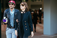 Oliver Zahm and Carine Roitfeld at Paris Fashion Week (Photo by Hunter Abrams/Guest of a Guest)