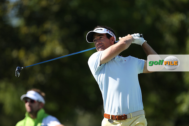 Eduardo De La Riva (ESP) drives to the 17th during Round Two of the Tshwane Open 2015 at the Pretoria Country Club, Waterkloof, Pretoria, South Africa. Picture:  David Lloyd / www.golffile.ie. 13/03/2015