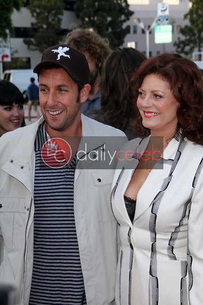 Adam Sandler and Susan Sarandon<br />