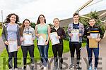 Colaiste na Sceilge students were very happy collecting their Junior Cert results pictured l-r; Sophie Graef, Nikki Higgins, Caoimhe Curran, Tara Whittington, Jordan O'Sullivan & Gavan Reardon.