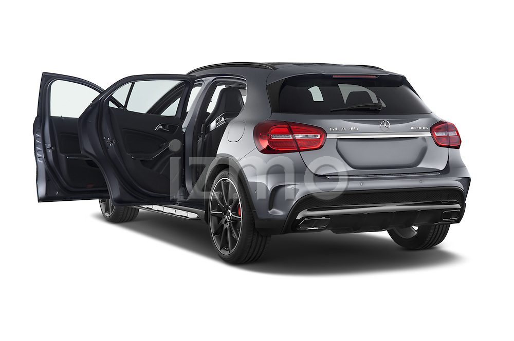 Car images of a 2015 Mercedes Benz GLA-KLASSE AMG 5 Door SUV Doors