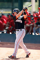 Buster Posey - San Francisco Giants - 2009 spring training.Photo by:  Bill Mitchell/Four Seam Images