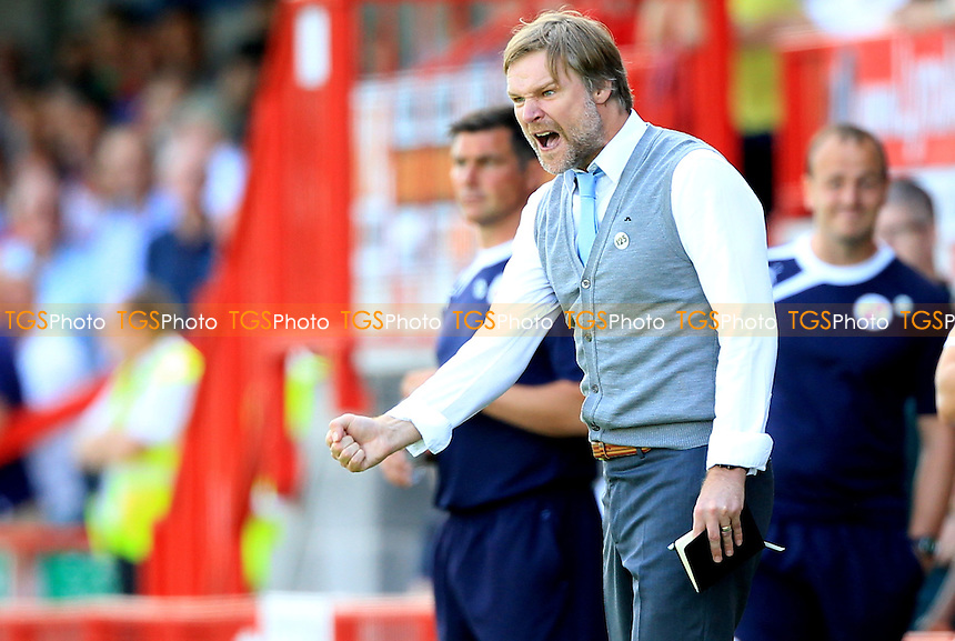 Coventry City Manager Steven Pressley - Crawley Town vs Coventry City - Sky Bet League One Football at the Broadfield Stadium, Crawley, West Sussex - 03/08/13 - MANDATORY CREDIT: Simon Roe/TGSPHOTO - Self billing applies where appropriate - 0845 094 6026 - contact@tgsphoto.co.uk - NO UNPAID USE