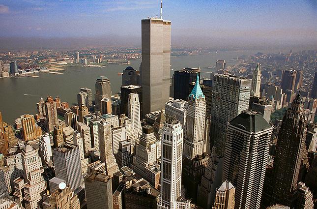 NY city aerial photo