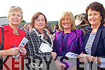 Bernie Frost and Ester Murphy from Clare with Annette Kenny and Emer Hayes from Limerick pictured in Listowel last Friday for ladies day.