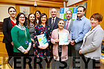 Attending the Growing Enterprise 2019 launch at the Kerry County Council chambers on Monday<br /> Front l to r: Helen O&rsquo;Connor Barry, Eilish O&rsquo;Donoghue, Sarah Flaherty and Brid O&rsquo;Dwyer.<br /> Back l to r: Leanne Chapman, Brid Bowler, Helena McMahon, Tomas Hayes, Victor Sheehan and Ben Slimm.