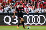 AC Milan Midfielder Ricardo Rodriguez in action during the 2017 International Champions Cup China  match between FC Bayern and AC Milan at Universiade Sports Centre Stadium on July 22, 2017 in Shenzhen, China. Photo by Marcio Rodrigo Machado / Power Sport Images