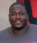 Quinton Aaron at the Columbia pictures L.A. Premiere of The Karate Kid held at The Mann Village Theatre in Westwood, California on June 07,2010                                                                               © 2010 Debbie VanStory / Hollywood Press Agency