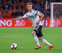 Joshua Kimmich (Deutschland Germany) - 24.03.2019: Niederlande vs. Deutschland, EM-Qualifikation, Amsterdam Arena, DISCLAIMER: DFB regulations prohibit any use of photographs as image sequences and/or quasi-video.