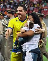 RECIFE-PE-29.06.2016-JOGO DO BEM-PE-  Wesley Safadão durante evento Jogo do Bem, realizado na Arena Pernambuco, zona oeste da Grande Recife, nesta quarta-feira, 29.  (Foto: Jean Nunes/Brazil Photo Press)