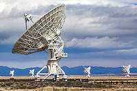 VLA (Very Large Array) Radio Telescope