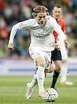Real Madrid's Luka Modric during La Liga match. April 20,2016. (ALTERPHOTOS/Acero)