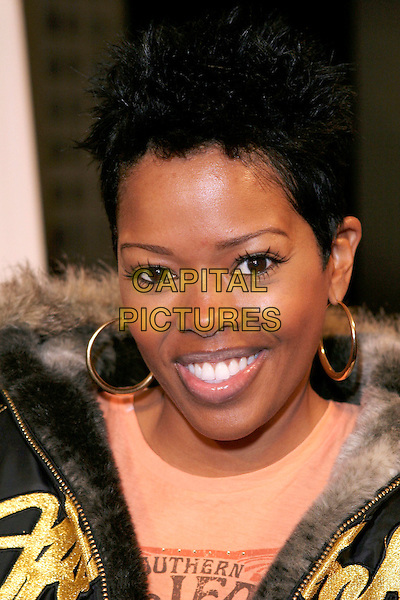 "MALINDA WILLIAMS.""Diary of a Mad Black Woman"" Los Angeles Premiere held at the Arcight, Hollywood, California, 21 February 2005..portrait headshot gold hoop earrings.Ref: ADM.www.capitalpictures.com.sales@capitalpictures.com.©Zach Lipp/AdMedia/Capital Pictures ."