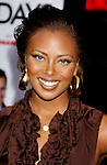 """HOLLYWOOD, CA. - December 03: Actress Eva Marcille arrives at the Los Angeles premiere of """"Nothing Like The Holidays"""" at Grauman's Chinese Theater on December 3, 2008 in Hollywood, California."""
