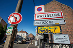 Mouscron - Belgium - 15 June 2020 -- Open borders between Belgium and France after some COVID-19 restrictions are lifted. — Belgian - French border at Mouscron and Wattrelos. — PHOTO: Juha ROININEN / EUP-IMAGES