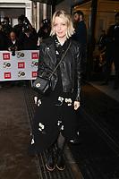 Lauren Laverne<br /> arriving for the TRIC Awards 2019 at the Grosvenor House Hotel, London<br /> <br /> ©Ash Knotek  D3487  08/03/2019