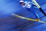 Salto, disciplina Olimpica invernale. Ski-jumping, winter olympic discipline.