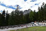 The peloton in action during Stage 18 of the 2019 Giro d'Italia, running 222km from Valdaora-Olang to Santa Maria di Sala, Italy. 30th May 2019<br /> Picture: Fabio Ferrari/LaPresse | Cyclefile<br /> <br /> All photos usage must carry mandatory copyright credit (© Cyclefile | Fabio Ferrari/LaPresse)