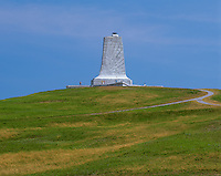 Wright Brothers National Memorial, NC<br /> The Wright Brothers memorial on Big Kill Devil Hill at Kitty Hawk commemorating first flight