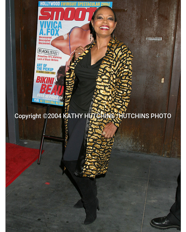 ©2004 KATHY HUTCHINS /HUTCHINS PHOTO.SMOOTH MAGAZINE PARTY FOR VIVICA FOX COVER.IVAR.LOS ANGELES, CA.APRIL 20, 2004..FLORENCE LA RUE