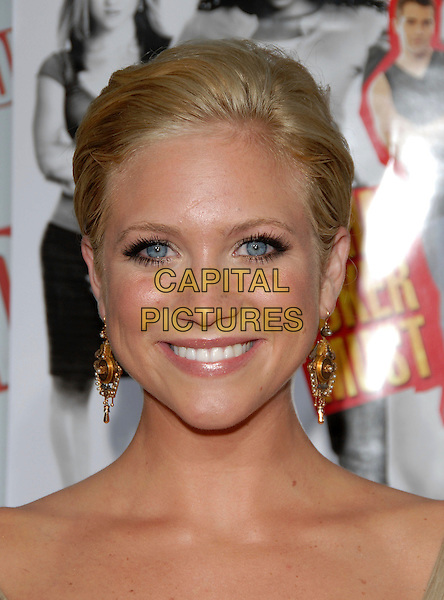 "BRITTANY SNOW.Los Angeles Premiere of ""John Tucker Must Die"" held at The Grauman's Chinese Theatre in Hollywood, California  .July 25th, 2006.Ref: DVS.headshot portrait gold earrings.www.capitalpictures.com.sales@capitalpictures.com.©Debbie VanStory/Capital Pictures"