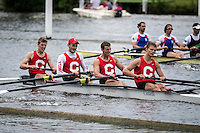 Henley Royal Regatta, Henley on Thames, Oxfordshire, 29 June-3 July 2015.  Thursday  18:37:10   30/06/2016  [Mandatory Credit/Intersport Images]<br /> <br /> Rowing, Henley Reach, Henley Royal Regatta.<br /> <br /> Cornell University. USA.