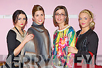 Katie Moynihan, Joanne Crowley, Siobhain Murphy and Sheilann Moynihan at the fashion show in aid of the Children of Chernobyl at Rathmore Community Centre on Thursday night