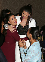 LOS ANGELES, CA - NOVEMBER 8: Roselyn Sanchez, Zoe Saldana, Eva Longoria, at the Eva Longoria Foundation Dinner Gala honoring Zoe Saldana and Gina Rodriguez at The Four Seasons Beverly Hills in Los Angeles, California on November 8, 2018. Credit: Faye Sadou/MediaPunch