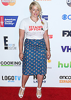HOLLYWOOD, LOS ANGELES, CA, USA - SEPTEMBER 05: Amanda de Cadenet arrives at the 4th Biennial Stand Up To Cancer held at Dolby Theatre on September 5, 2014 in Hollywood, Los Angeles, California, United States. (Photo by Xavier Collin/Celebrity Monitor)