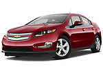 Low aggressive front three quarter view of a 2011 Chevrolet Volt