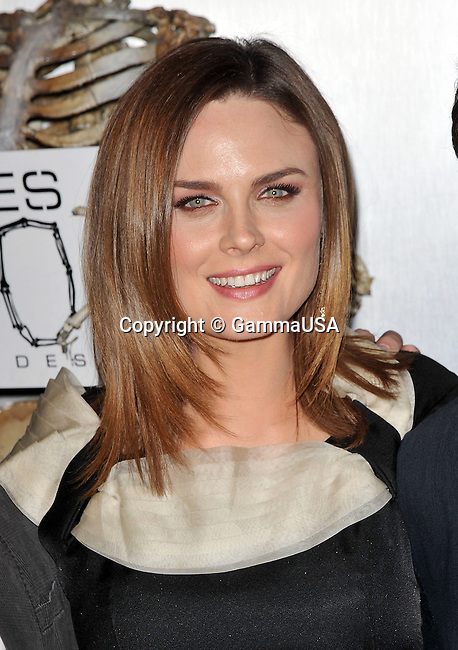 Emily Deschanel _30   -<br /> Bones 100th episodes Celebration at  650 North Club In Los Angeles.